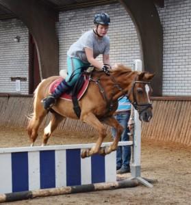 Fury in actie tijdens ponykamp 2016